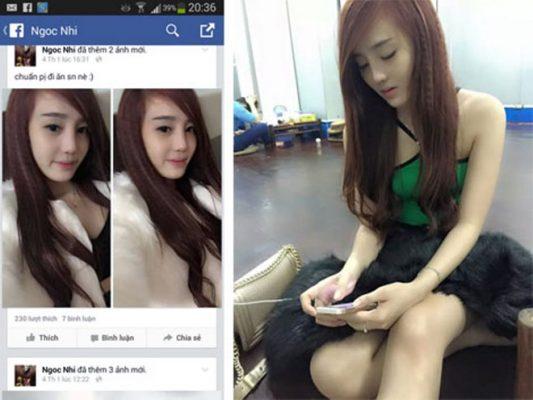 """Gái xinh đi khách """"tàu nhanh"""" qua zalo facebook giá cao"""