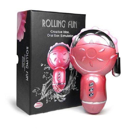 Lưỡi liếm âm đạo đa năng Rolling Fun